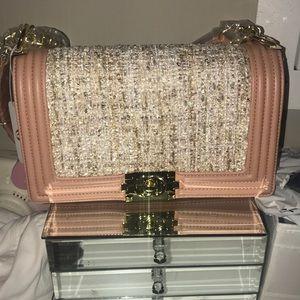 Charming Charlie crossbody , Chanel lookalike